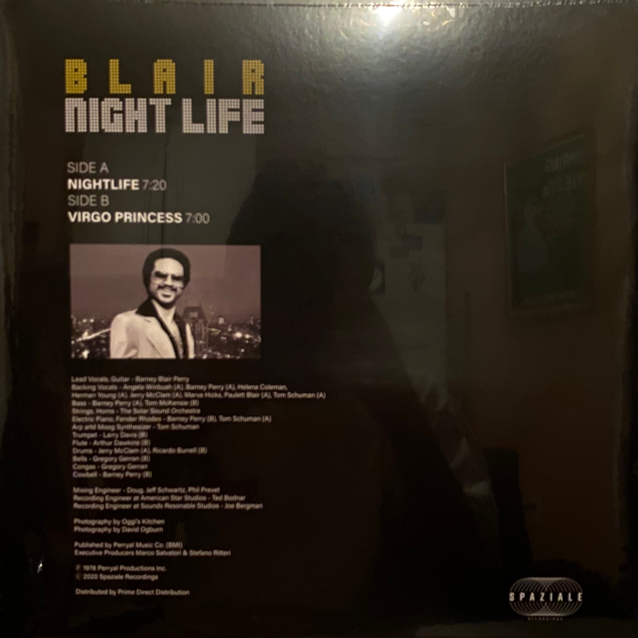 Blair ‎– Nightlife / Virgo Princess