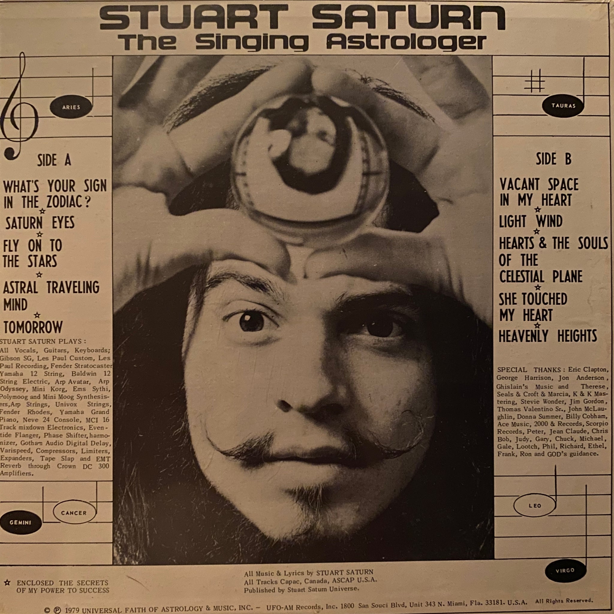 Stuart Saturn The Singing Astrologer ‎– What's Your Sign In The Zodiac?