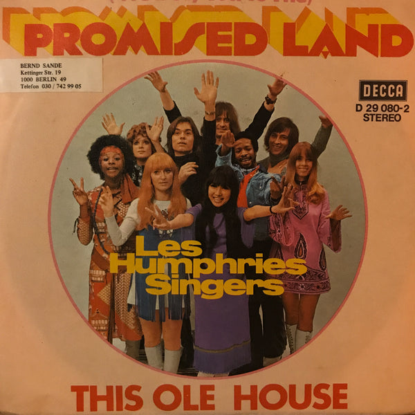 Les Humphries Singers ‎– (We'll Fly You To The) Promised Land / This Ole House