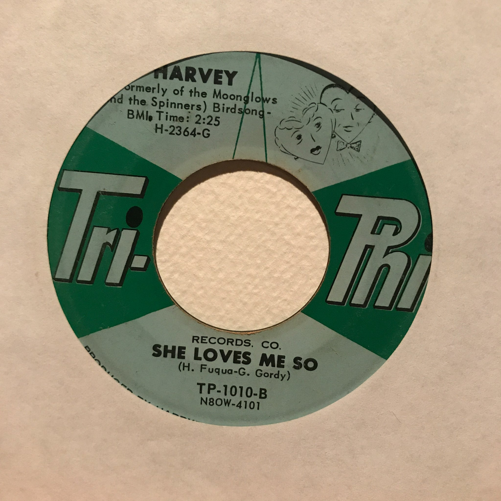 Harvey ‎– Whistling About You / She Loves Me So