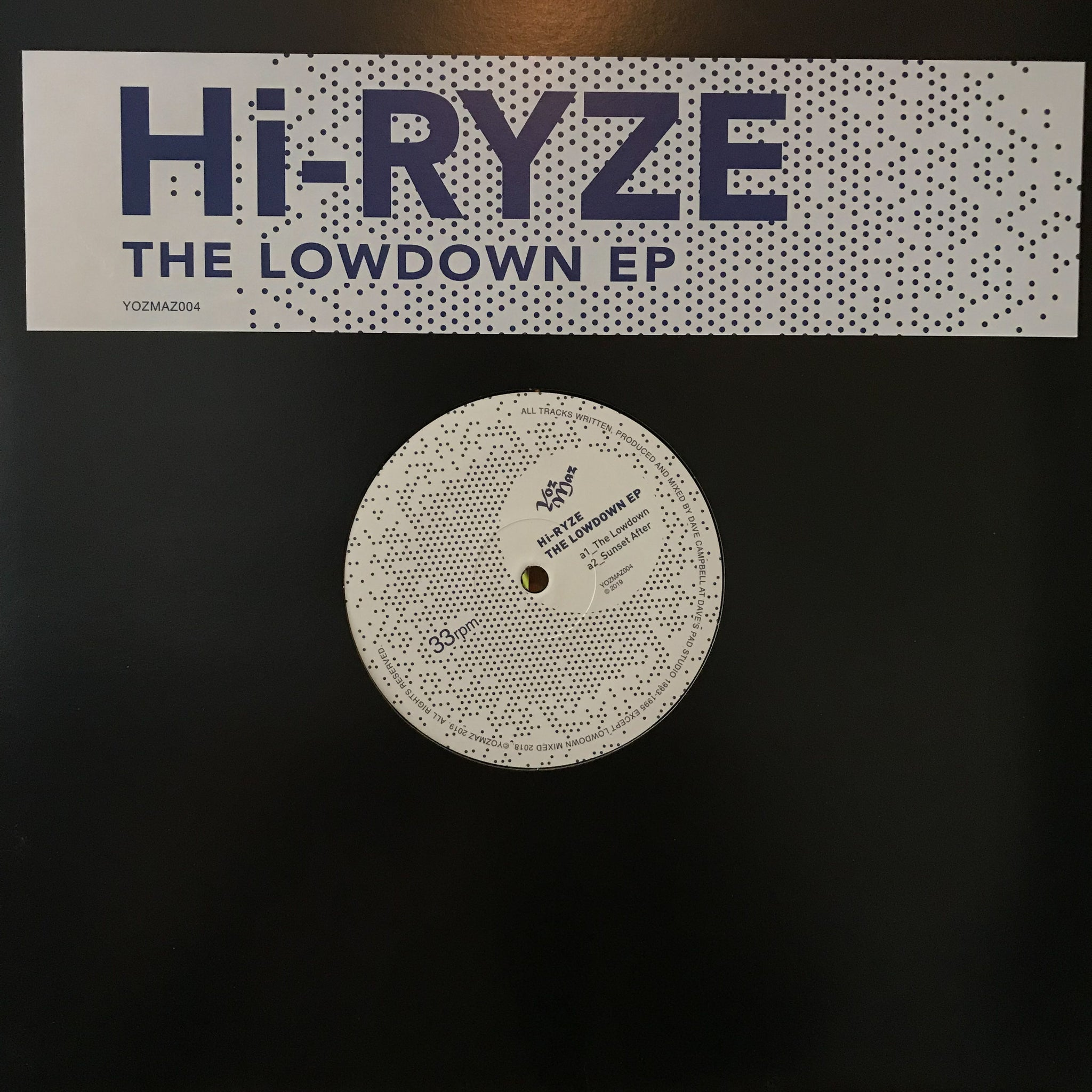 Hi-Ryze ‎– The Lowdown EP