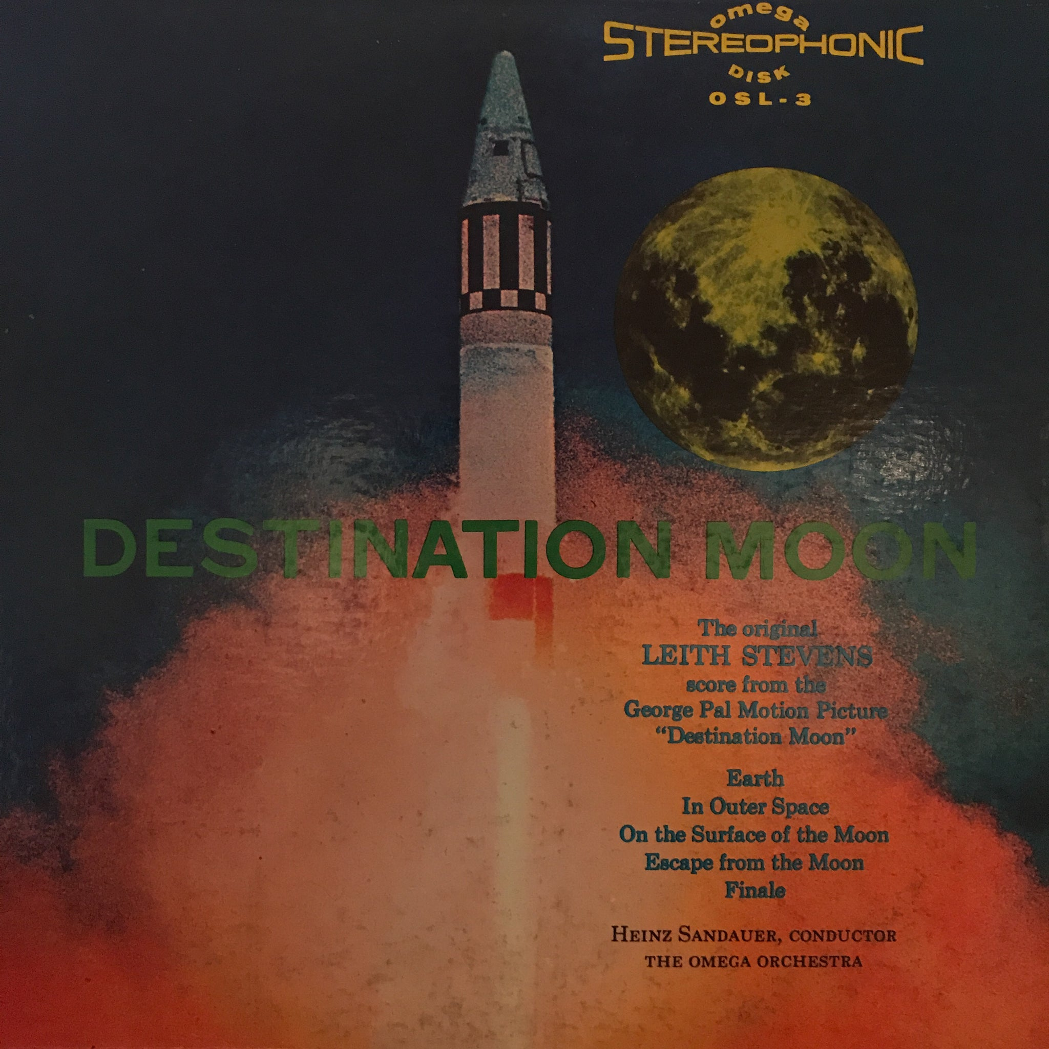 Leith Stevens ‎– Destination Moon