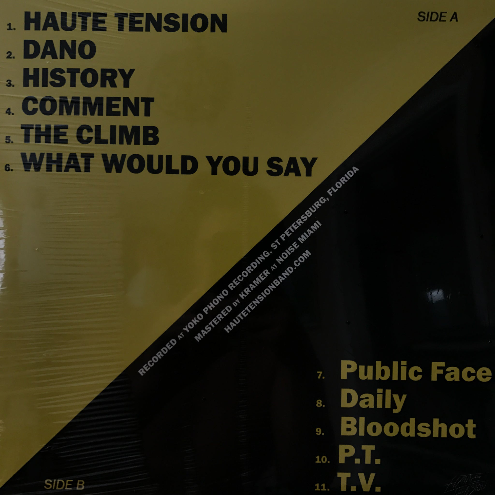 Haute Tension - Haute Tension