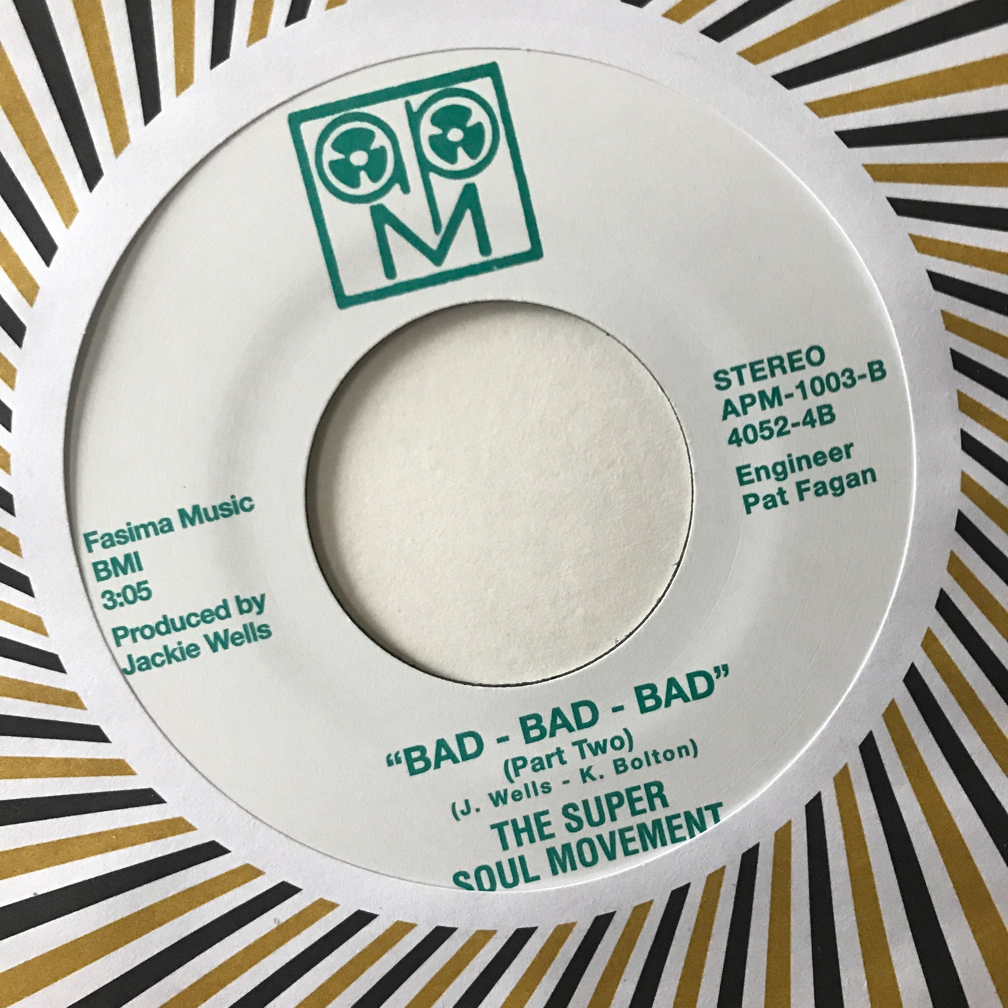 The Super Soul Movement ‎– Bad, Bad, Bad