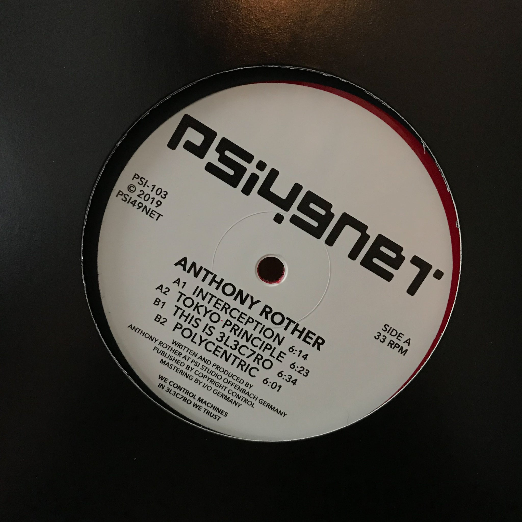 Anthony Rother ‎– Interception