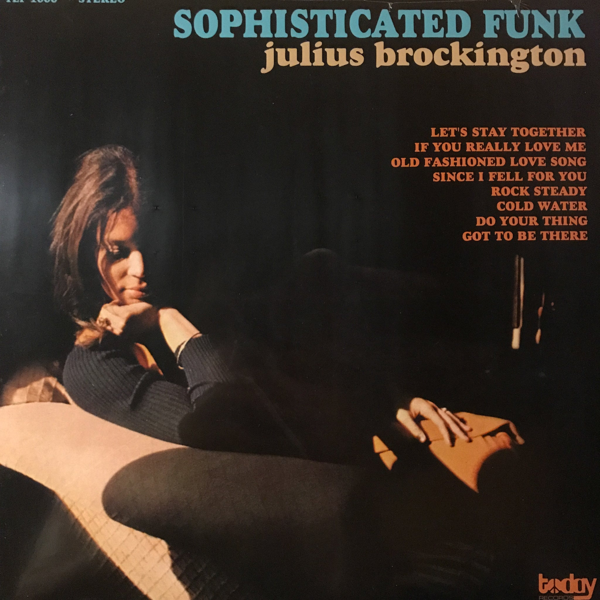 Julius Brockington ‎– Sophisticated Funk