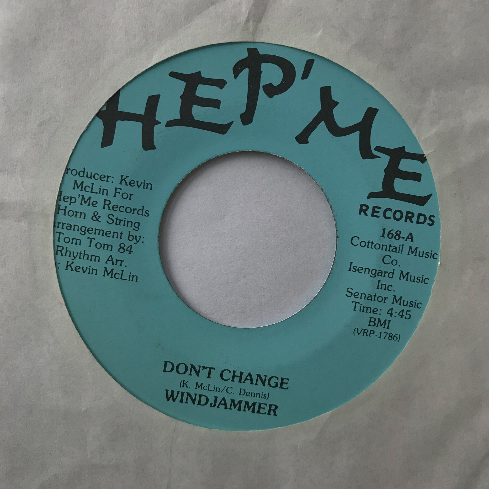 Windjammer ‎– Don't Change / Stay