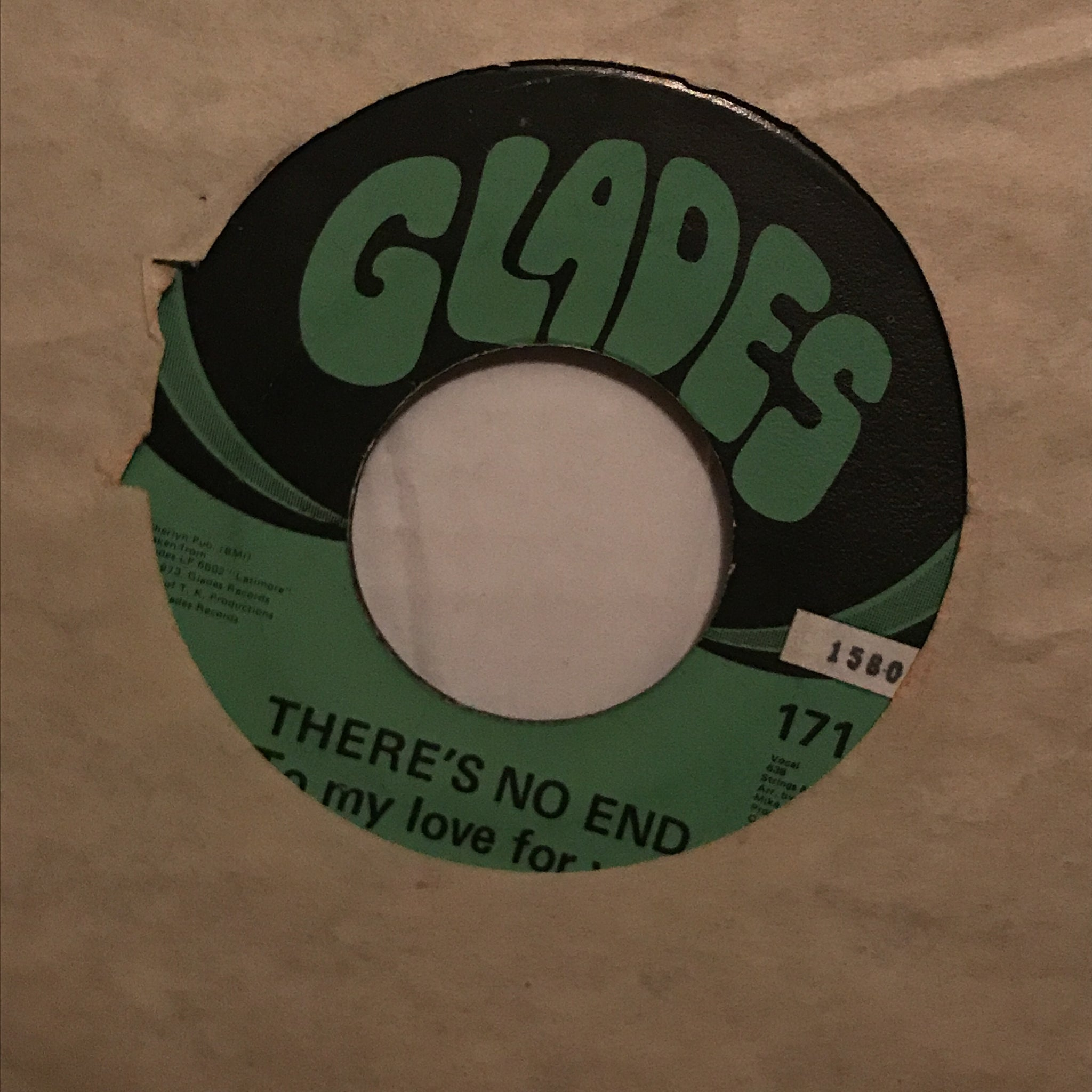 Latimore ‎– Jolie / There's No End (To My Love For You)