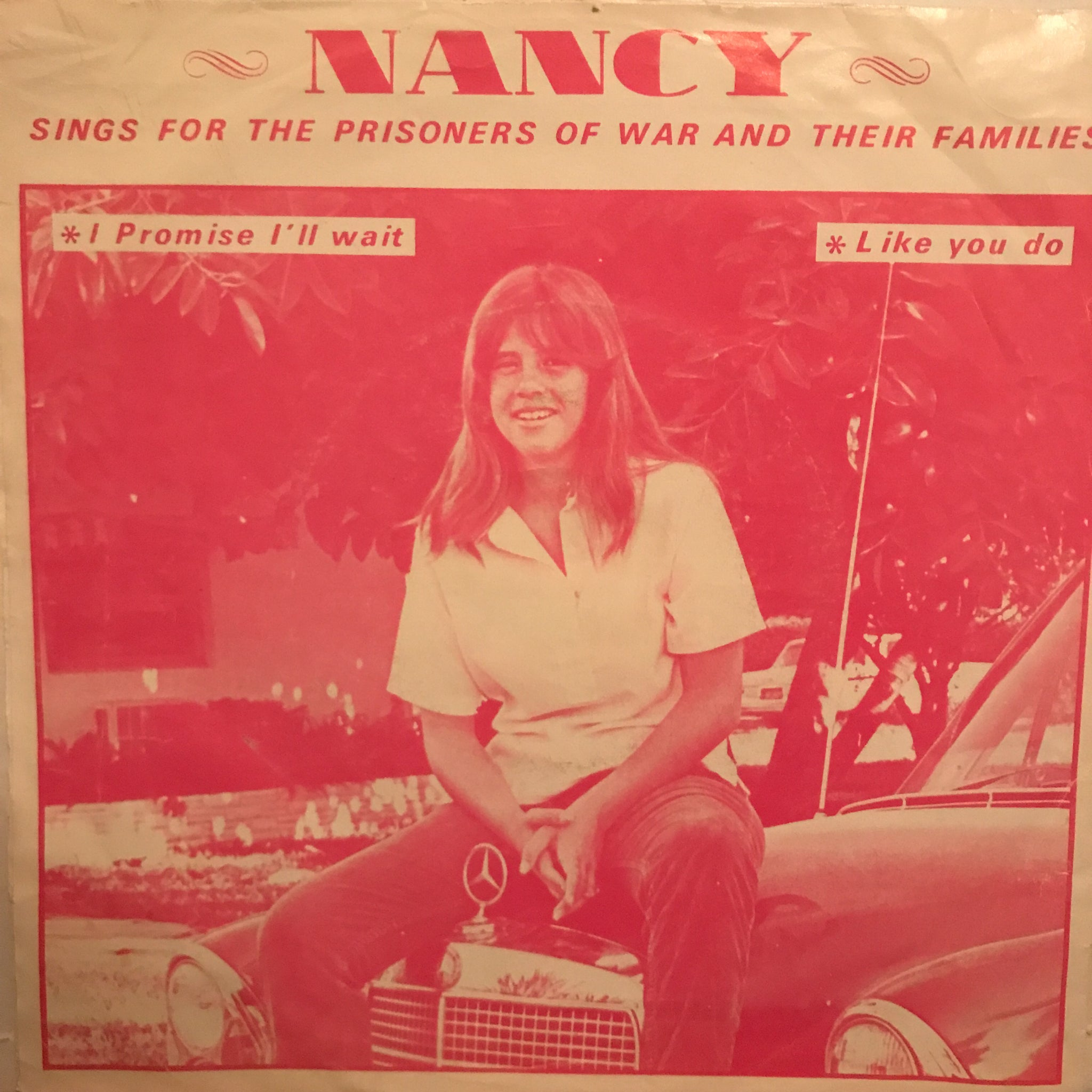 "Nancy / Billi Welles Outer Realm, Unlimited ‎– I Promise I'll Wait / Like You Do (7"")"