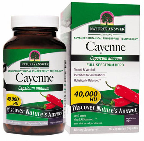 Natures Answer Cayenne Pepper Fruit