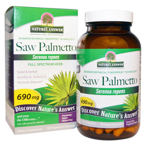 Natures Answer Saw Palmetto Berry Extract