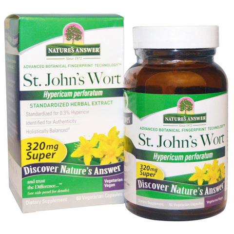 Natures Answer St Johns Wort Herb Extract Super
