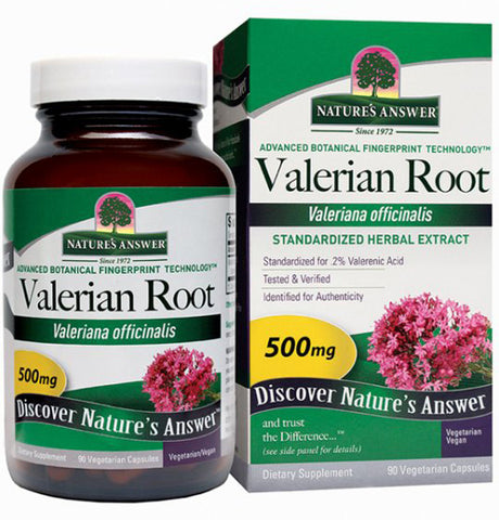 Natures Answer Valerian Root Extract