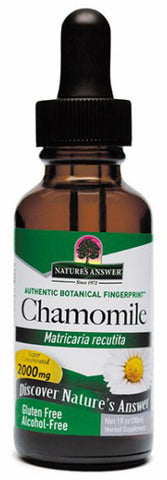 Natures Answer Chamomile Flowers Alcohol Free
