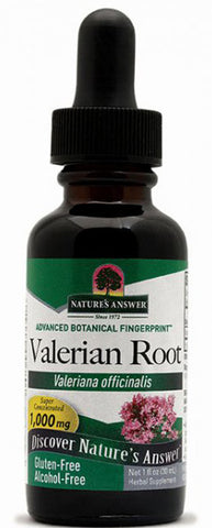 Natures Answer Valerian Root Alcohol Free