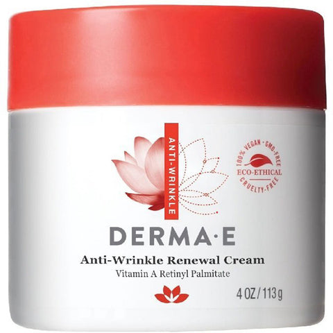 DERMA E - Anti-Wrinkle Renewal Cream with Vitamin A Retinyl Palmitate