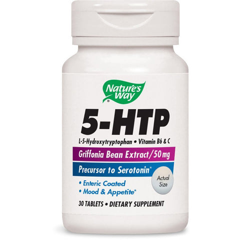 NATURES WAY - 5-HTP 50 mg