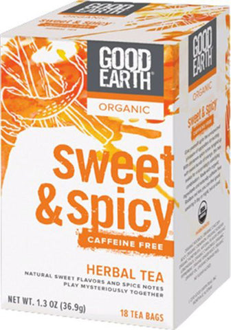 Good Earth - Organic Sweet  Spicy Herbal Tea Caffeine Free