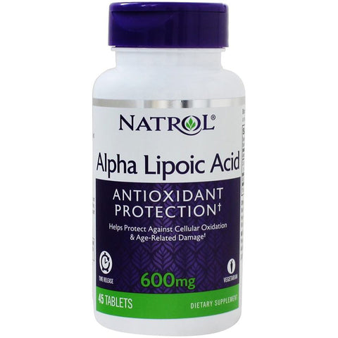 Natrol Alpha Lipoic Acid 600mg Time Release