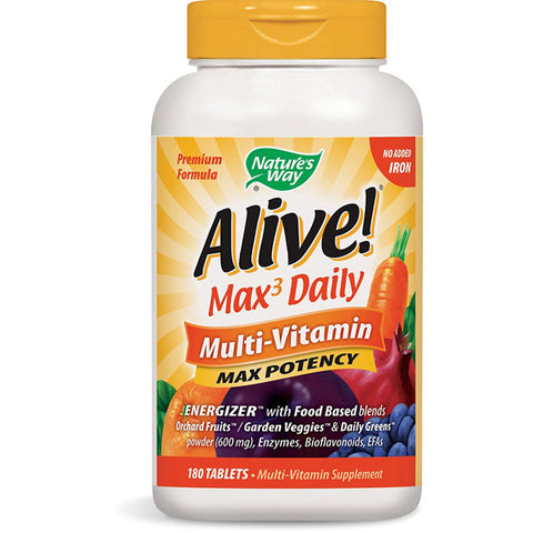 NATURES WAY - Alive! Max3 Daily Adult Multivitamin