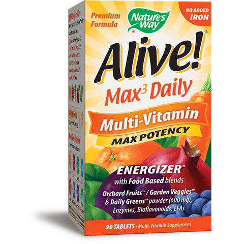 NATURES WAY - Alive Multi-Vitamin Iron Free