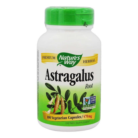 NATURES WAY - Astragalus Root 470 mg