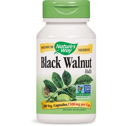 NATURES WAY - Black Walnut Hulls 500 mg