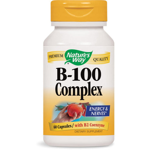 NATURES WAY - Vitamin B-100 Complex