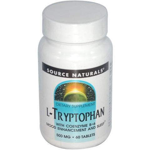Source Naturals L Tryptophan 500mg