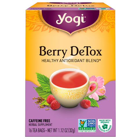 YOGI TEA - Berry DeTox Tea