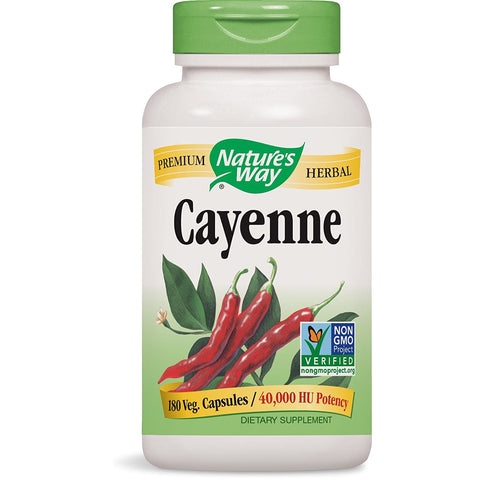 NATURES WAY - Cayenne Pepper 40,000 HU Potency