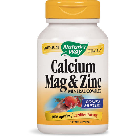 NATURES WAY - Calcium Mag & Zinc Mineral Complex