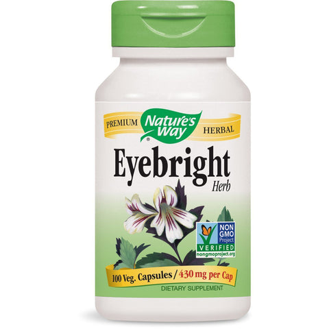 NATURES WAY - Eyebright Herb 430 mg