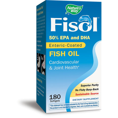 NATURES WAY - Fisol Fish Oil 50% EPA & DHA
