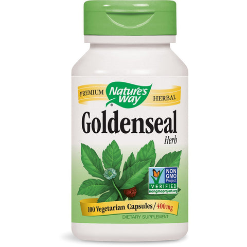 NATURES WAY - Goldenseal Herb 400 mg