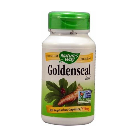 NATURES WAY - Goldenseal Root 570 mg