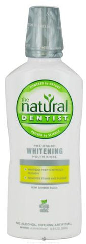Natural Dentist Pre Brush Whitening Mouth Rinse Clean Mint