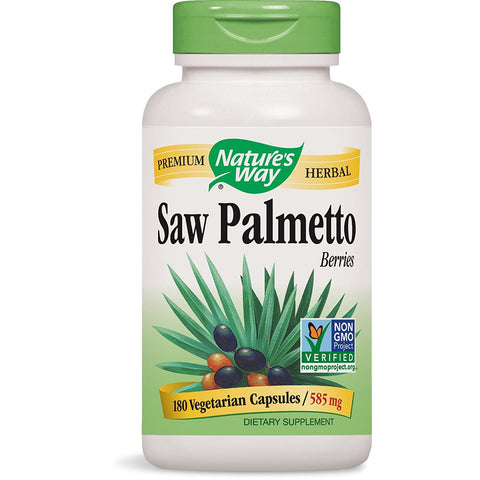 NATURES WAY - Saw Palmetto Berries 585 mg