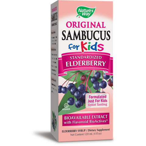 NATURES WAY - Original Sambucus for Kids Standardized Elderberry