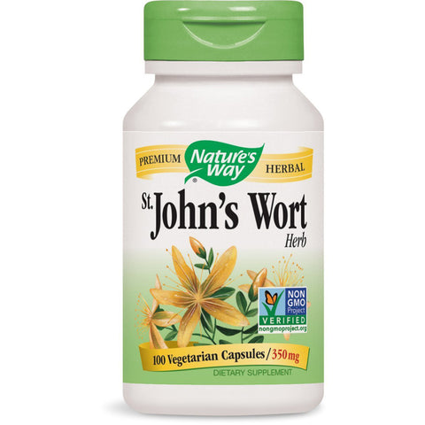 NATURES WAY - St. Johns Wort Herb 350 mg