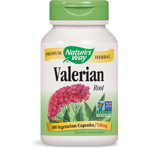 NATURES WAY - Valerian Root 530 mg