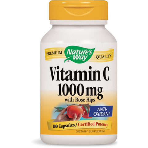 NATURES WAY - Vitamin C 1000 mg with Rose Hips