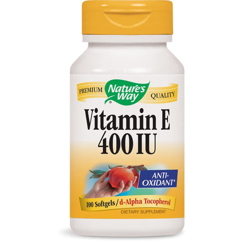 NATURES WAY - Vitamin E 400 IU with D-Alpha Tocopherol