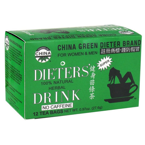 UNCLE LEE'S TEA - China Green Dieters Tea for Weight Loss