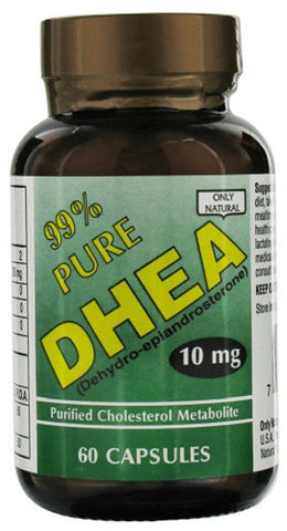 Only Natural 99 Pure DHEA 10 mg