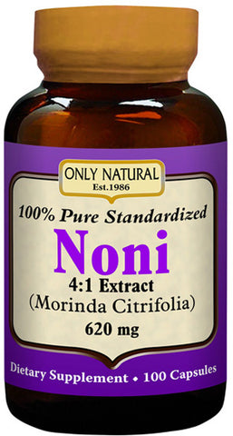 Only Natural Noni Extract Standardized 100 Pure