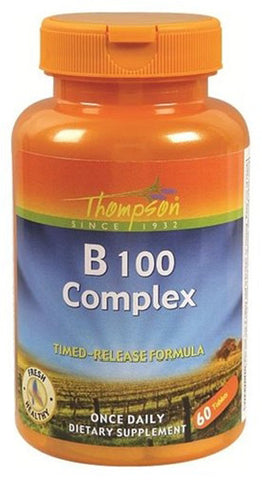 Thompson Nutritional B 100 Complex with B factor blend