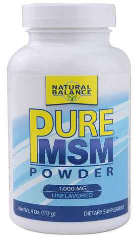 Natural Balance - Pure MSM Powder - 4 oz