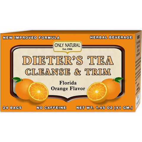 Only Natural Cleansing Dieters Tea Orange