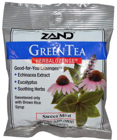 Zand Green Tea with Echinacea Lozenges